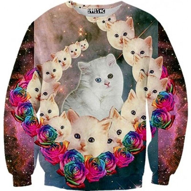 Fashion kitsch cu pisici - Poza 1