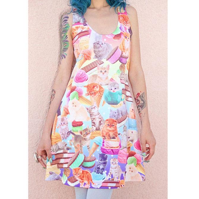 Fashion kitsch cu pisici - Poza 3