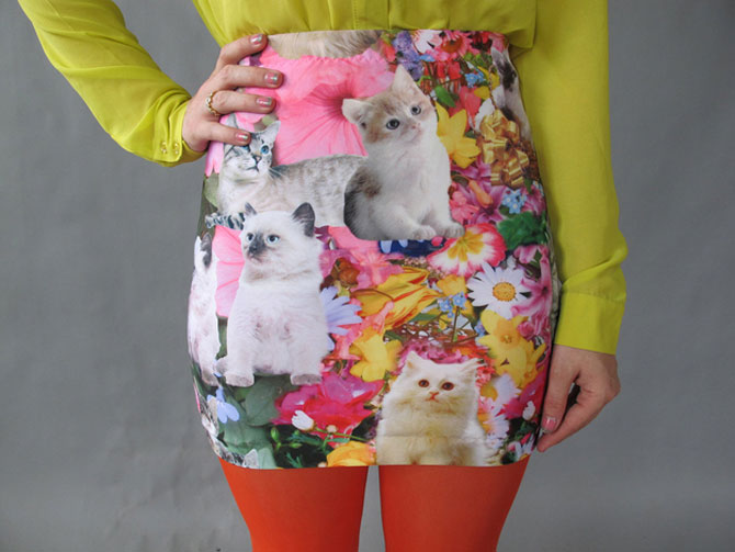 Fashion kitsch cu pisici - Poza 4