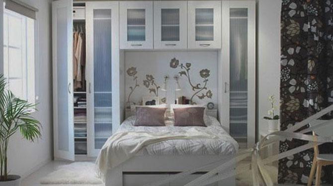 10 idei super-creative pentru dormitoare super-mici - Poza 2