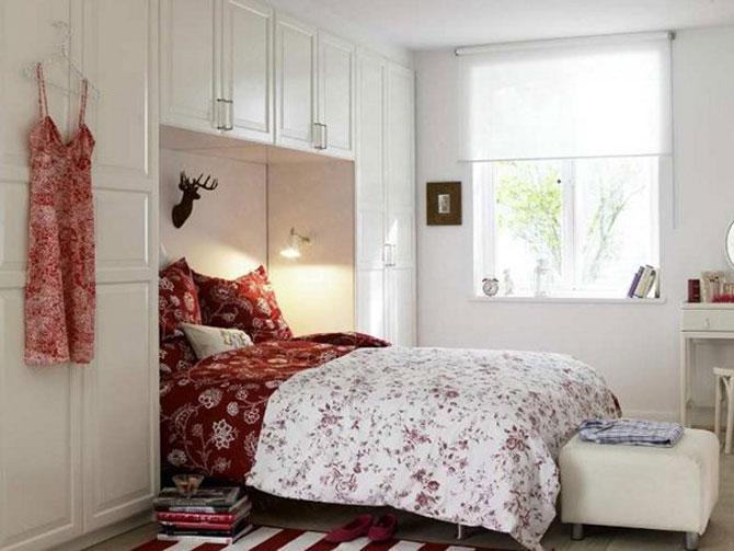 10 idei super-creative pentru dormitoare super-mici - Poza 3
