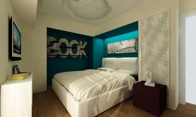 10 idei super-creative pentru dormitoare super-mici - Poza 5