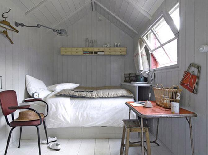 10 idei super-creative pentru dormitoare super-mici - Poza 6