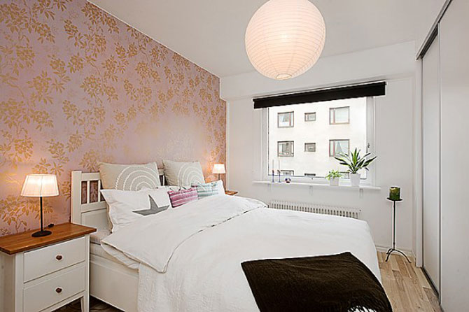 Amenajari dormitoare mici poze