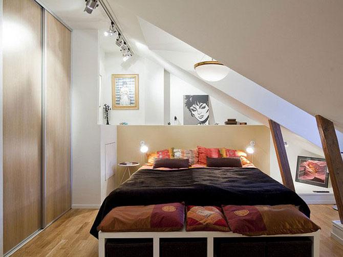 10 idei super-creative pentru dormitoare super-mici - Poza 10