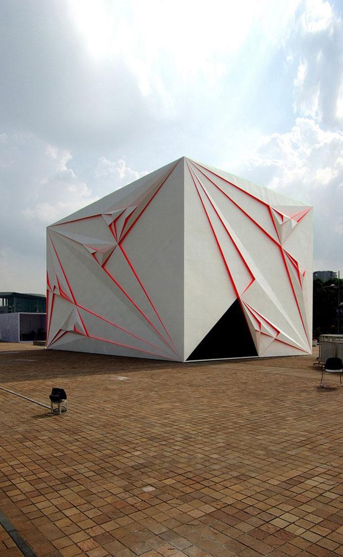 10 cladiri in stil de origami - Poza 6