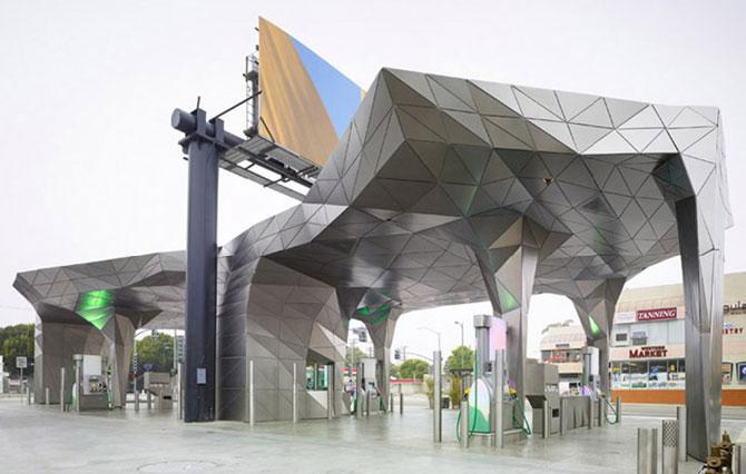 10 cladiri in stil de origami - Poza 10