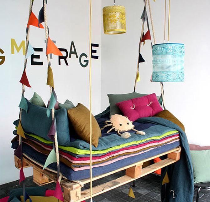 Camera de vis pentru copii in 10 obiecte
