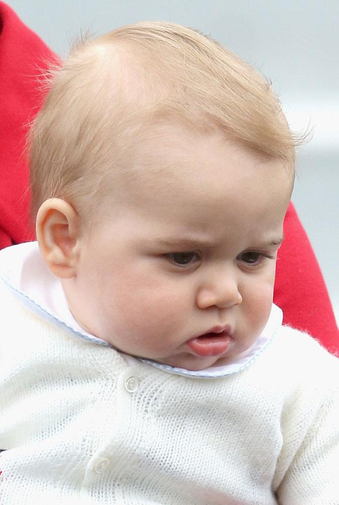 Printul George al Marii Britanii in 10 poze adorabile - Poza 4