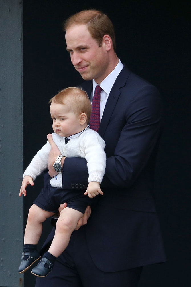 Printul George al Marii Britanii in 10 poze adorabile - Poza 5