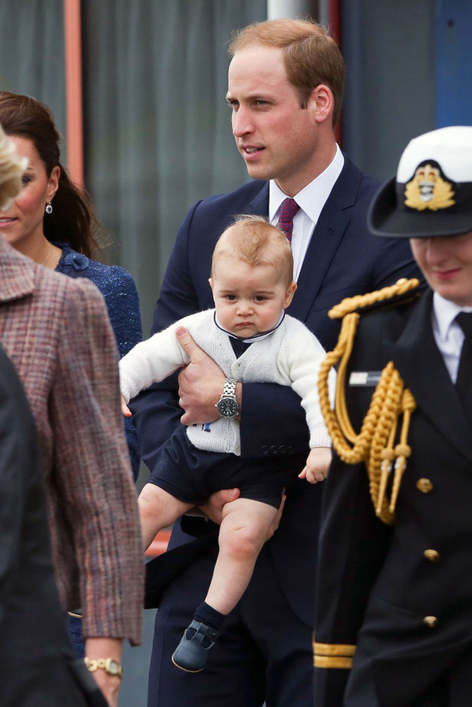 Printul George al Marii Britanii in 10 poze adorabile - Poza 6