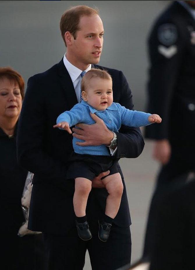 Printul George al Marii Britanii in 10 poze adorabile - Poza 7