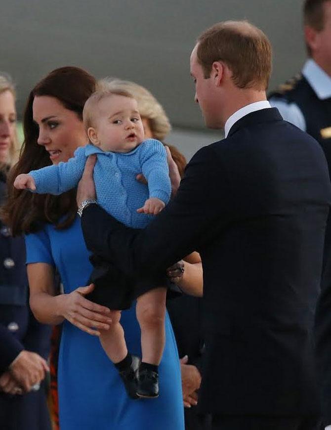 Printul George al Marii Britanii in 10 poze adorabile - Poza 8