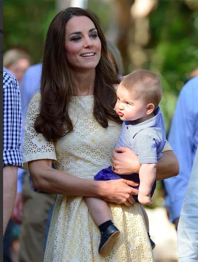 Printul George al Marii Britanii in 10 poze adorabile - Poza 10