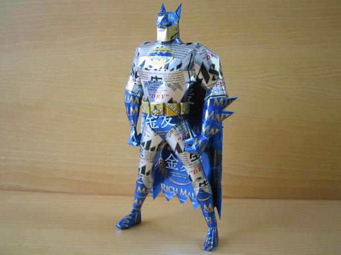 10 sculpturi din doze reciclate de bauturi - Poza 3