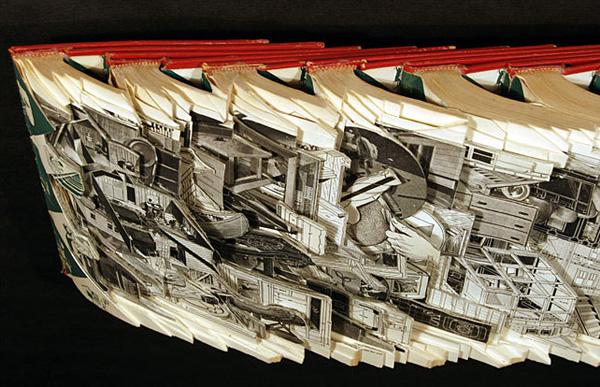 22 de sculpturi impresionante in carti - Poza 13