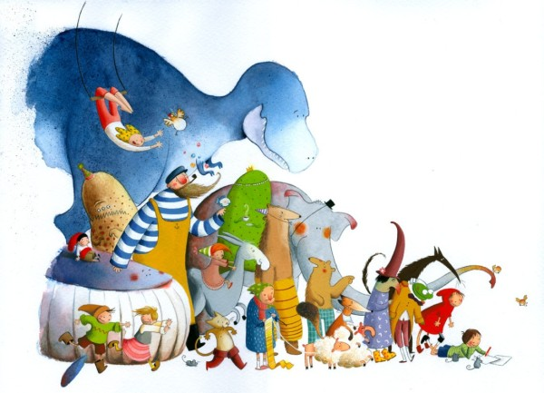 40 de desene grozave: Mariam Ben-Arab - Poza 1