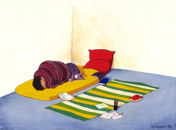 40 de desene grozave: Mariam Ben-Arab - Poza 24