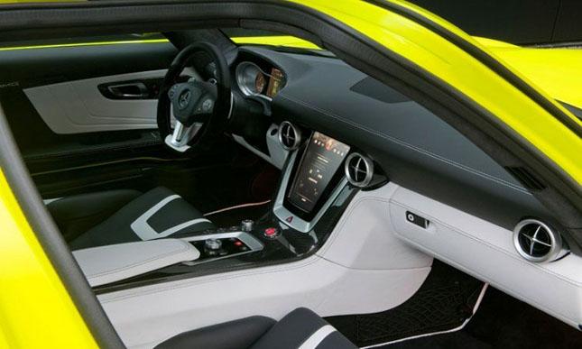 Prototipul Mercedes-Benz SLS AMG E-Cell - Poza 12