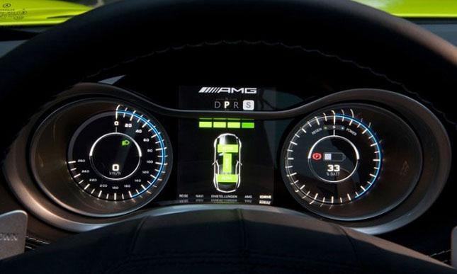 Prototipul Mercedes-Benz SLS AMG E-Cell - Poza 13