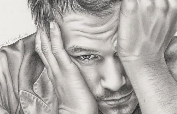 Celebritati: 40 de portrete excelente in creion - Poza 12