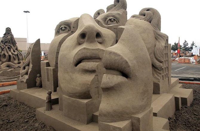 12 sculpturi care pun imaginatia la treaba - Poza 11