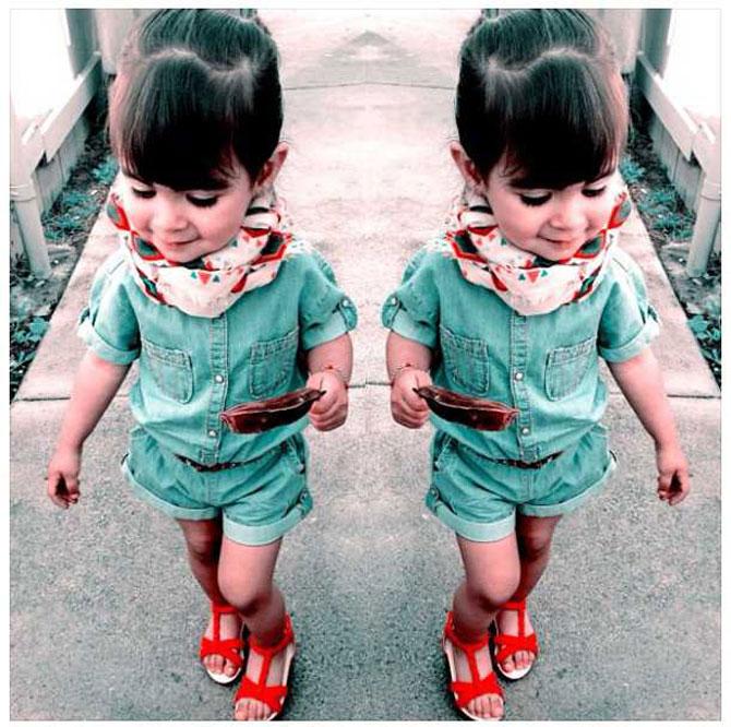 13 copii adorabil de trendy - Poza 7