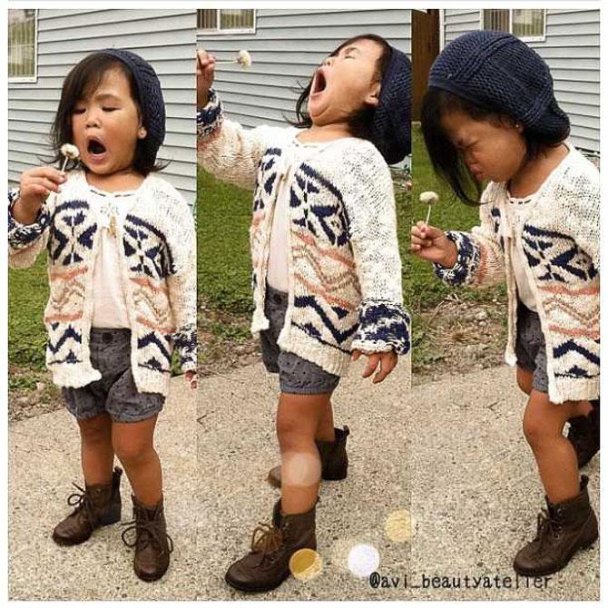 13 copii adorabil de trendy