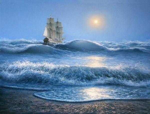 35 de picturi: Marea si corabiile - Poza 14