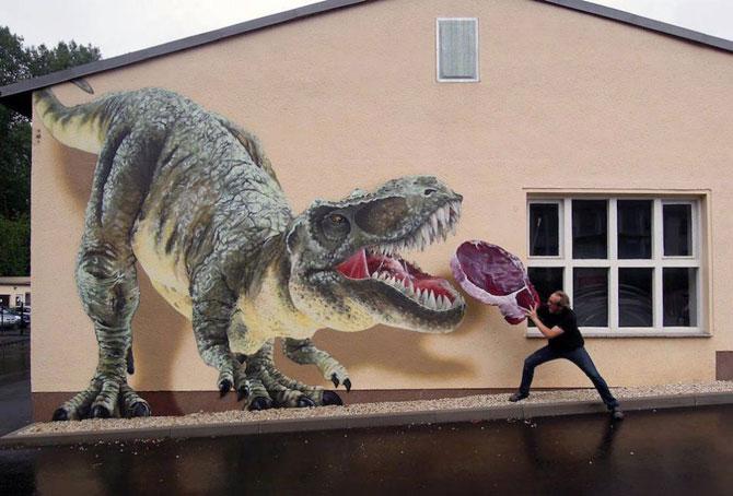 15 exemple de arta urbana - Poza 1