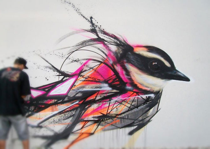15 exemple de arta urbana - Poza 3