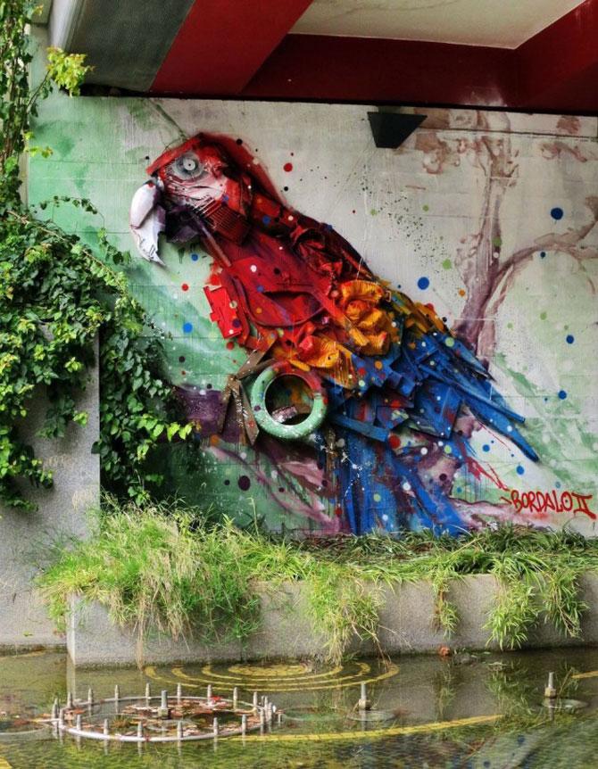 15 exemple de arta urbana - Poza 4