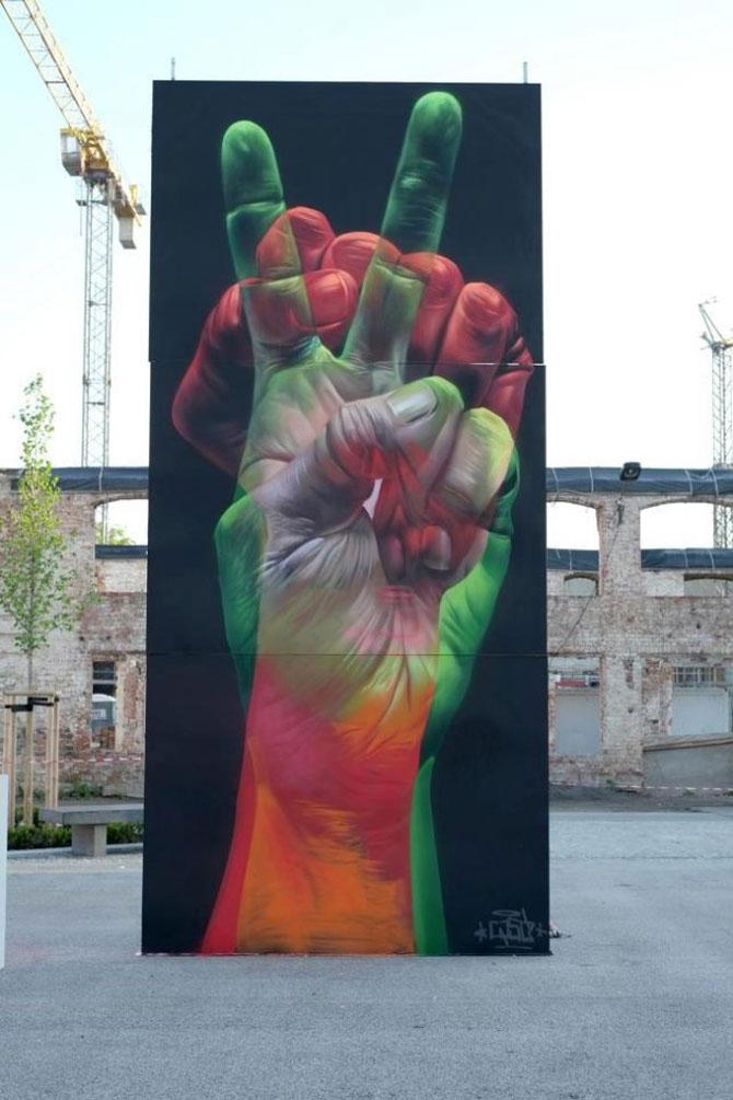 15 exemple de arta urbana - Poza 5