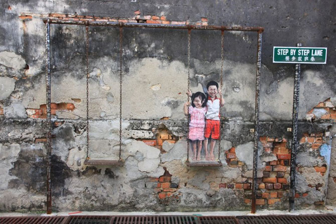 15 exemple de arta urbana - Poza 7