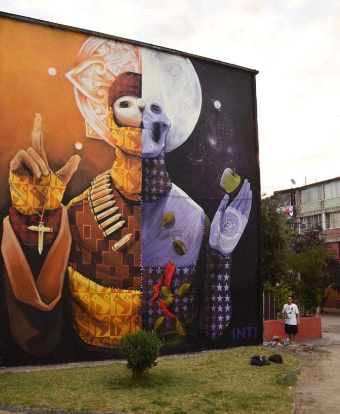15 exemple de arta urbana - Poza 8