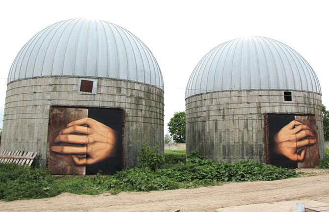 15 exemple de arta urbana - Poza 9