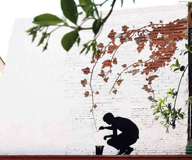 15 exemple de arta urbana - Poza 11