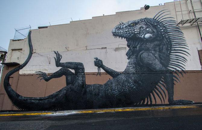 15 exemple de arta urbana - Poza 12