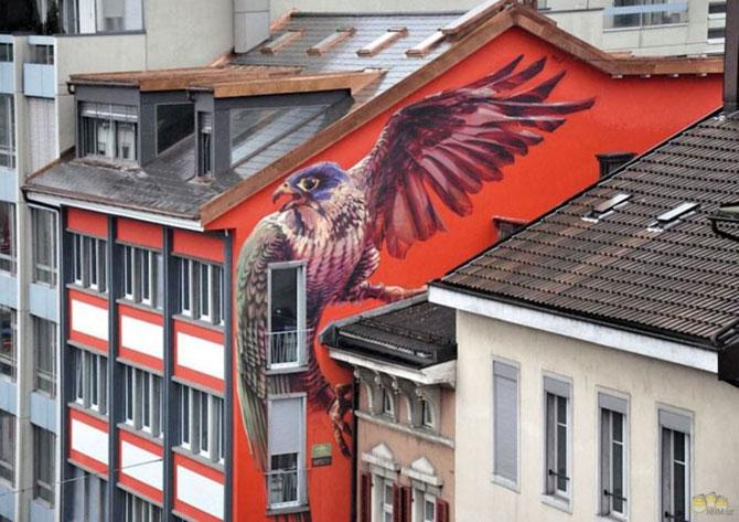 15 exemple de arta urbana - Poza 13
