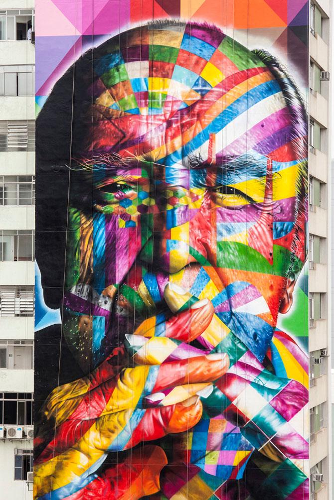 15 exemple de arta urbana - Poza 15