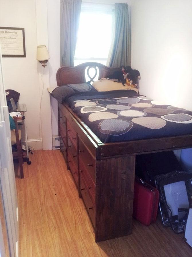 13 idei creative pentru dormitoare mici - Poza 4