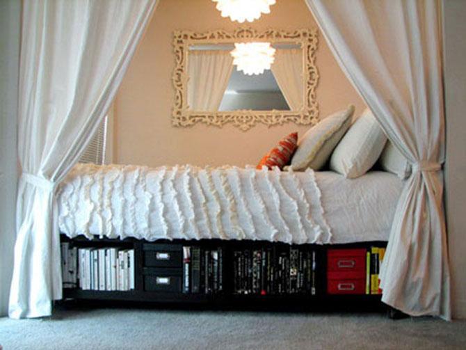 13 idei creative pentru dormitoare mici - Poza 5