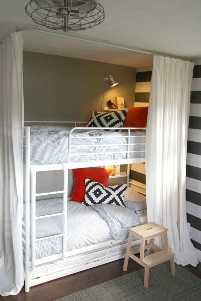 13 idei creative pentru dormitoare mici - Poza 6