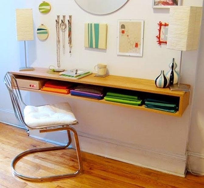 13 idei creative pentru dormitoare mici - Poza 8