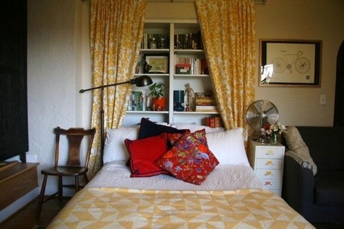 13 idei creative pentru dormitoare mici - Poza 9