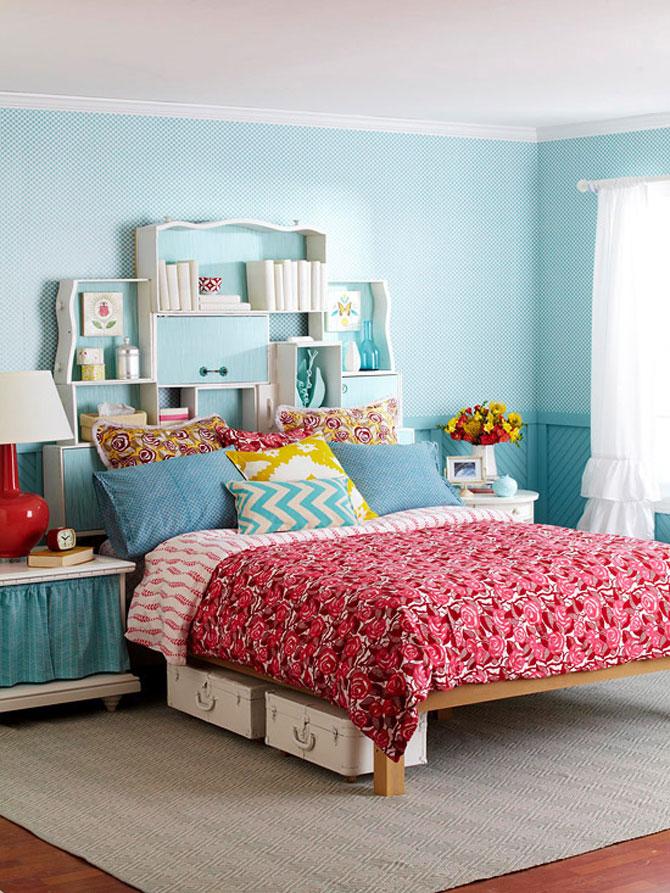 13 idei creative pentru dormitoare mici - Poza 10