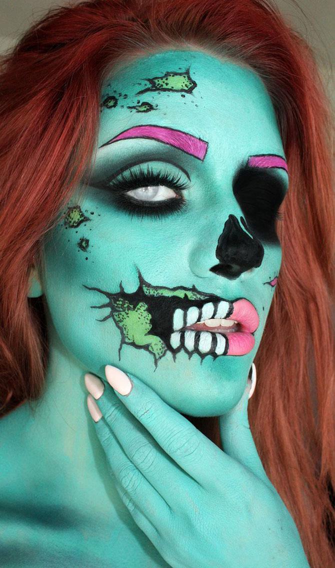 15 machiaje spectaculoase de Halloween - Poza 1