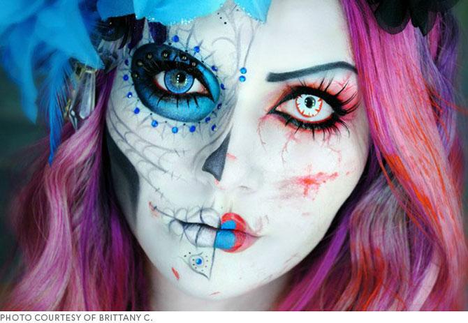 15 machiaje spectaculoase de Halloween - Poza 4