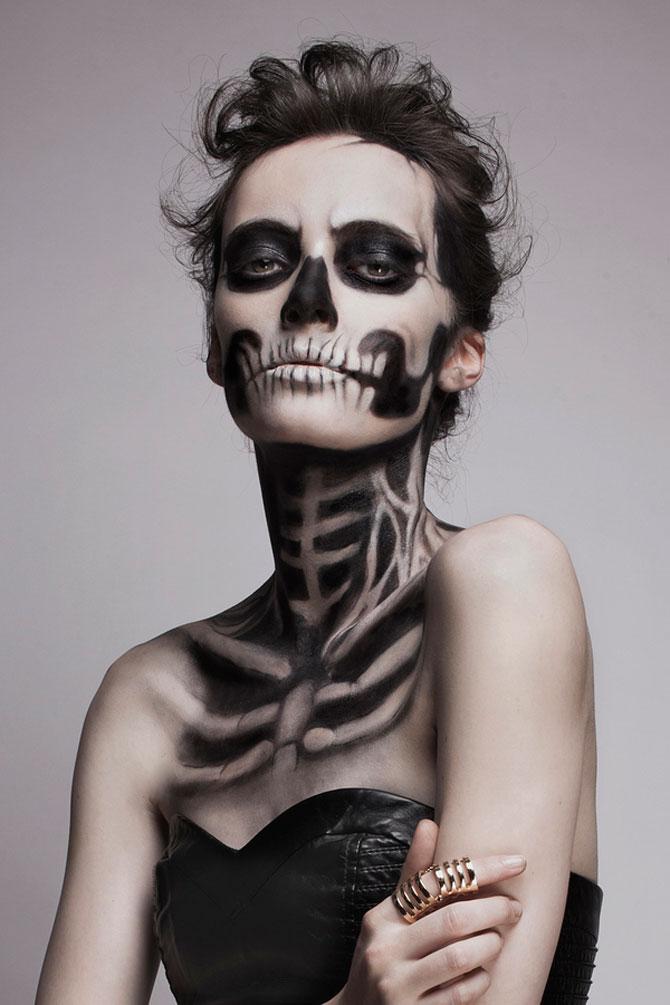 15 machiaje spectaculoase de Halloween - Poza 5