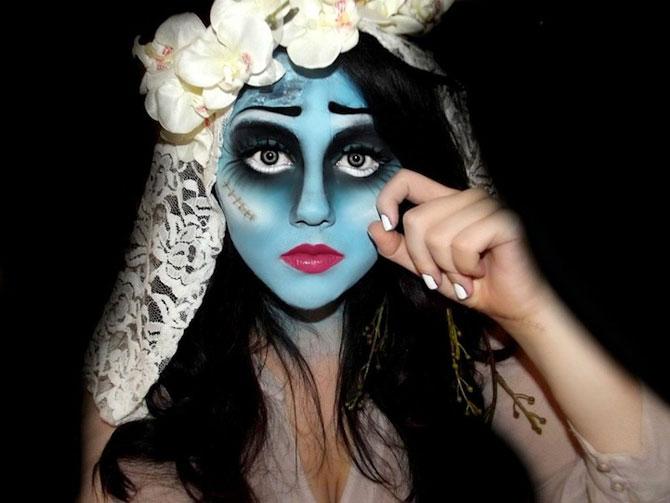 15 machiaje spectaculoase de Halloween - Poza 6